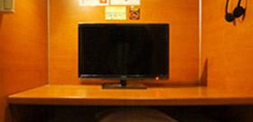 テレビブース