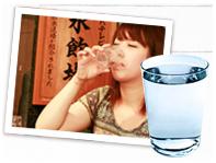 全館神戸ウォーター六甲布引の水使用。水道水は一切使用しておりません。